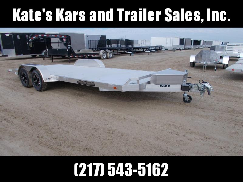 *NEW* Aluma 8220B Anniversary Edition Aluminum Car Hauler Trailer