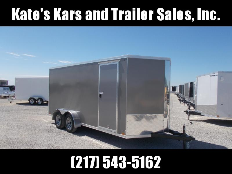 2020 Cross Extra Tall 7X16' Screwless Side Enclosed Cargo Trailer for sale in Ashburn, VA