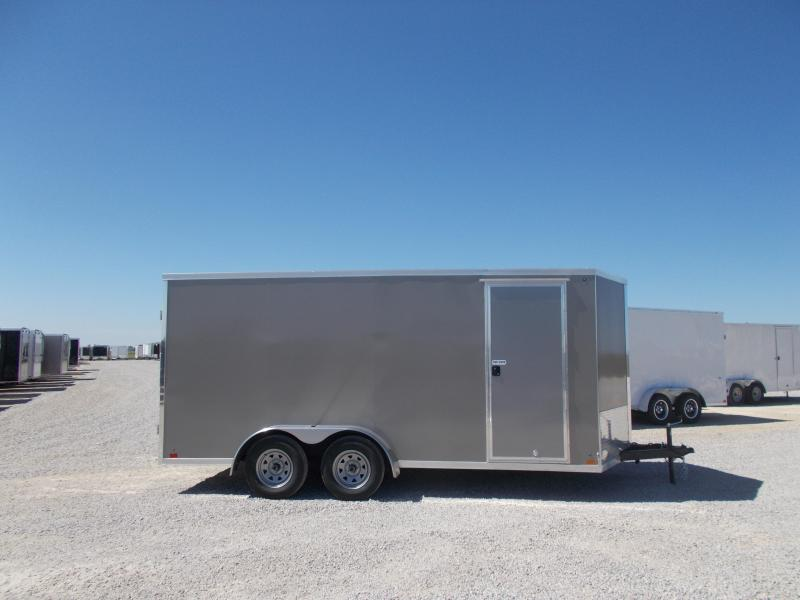 2020 Cross Extra Tall 7X16' Screwless Side Enclosed Cargo Trailer for sale