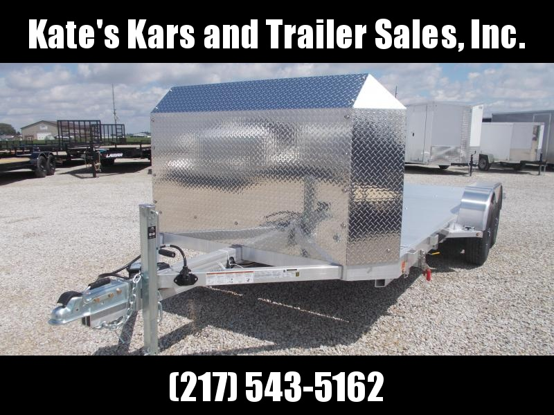 CALL For best Price!! Aluma 8216Tilt Anniversary Edition Aluminum Car / Racing Trailer 16' Tilt