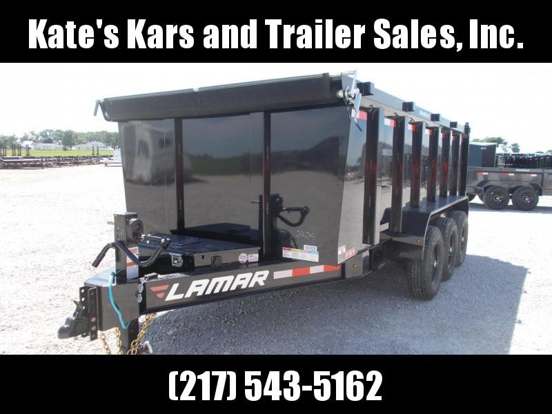 2019 Lamar Trailers 83X16 Triple Axle 21K GVWR Dump Trailer