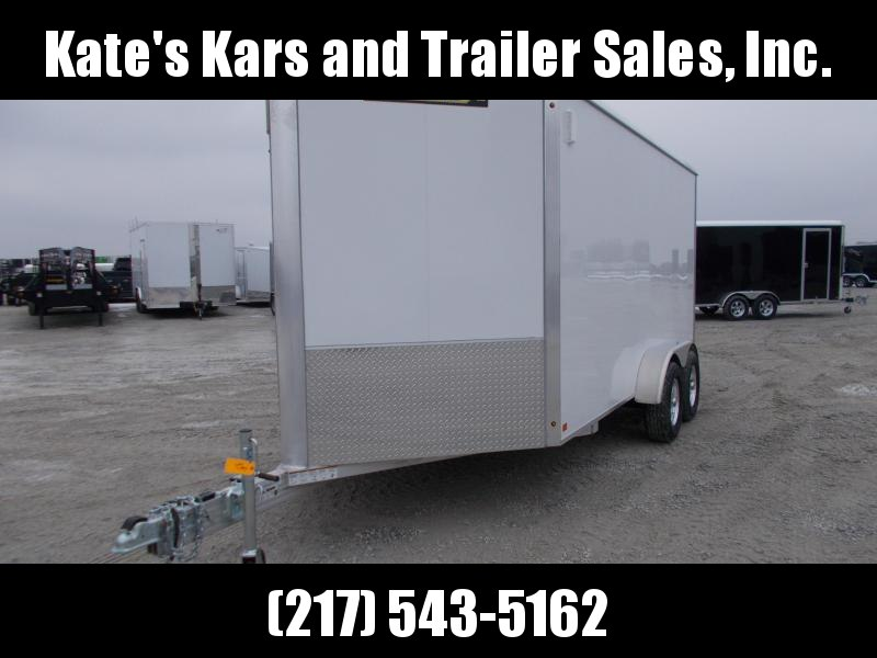 THE TRAILER TO BUY IF YOU WANT THE BEST@!! Aluma 7X14' EXTRA TALL  Aluminum Cargo Enclosed Trailer in Ashburn, VA