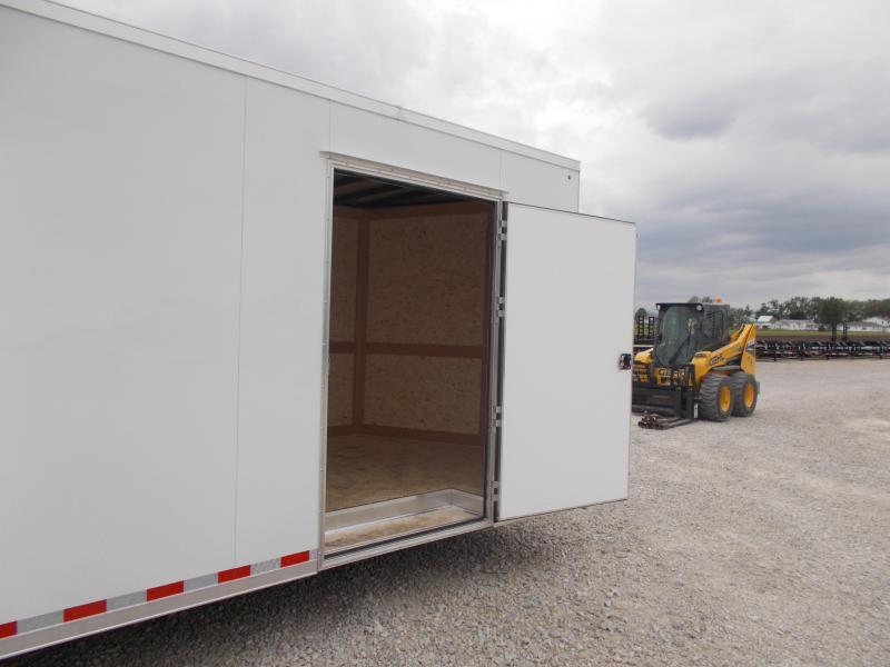 *HEAVY DUTY* Cross Extra Tall 8.5X28' Screwless Sides 12K GVWR  Enclosed Cargo Trailer