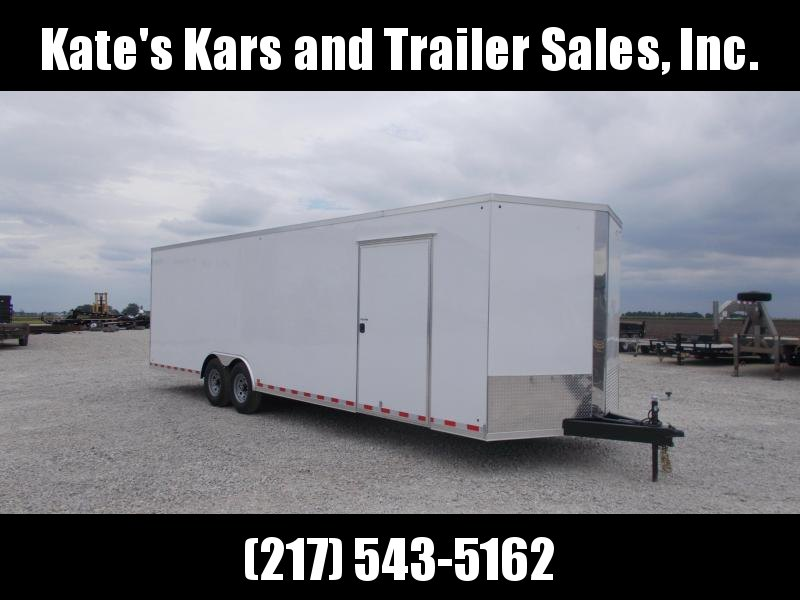 *HEAVY DUTY* Cross Extra Tall 8.5X28' Screwless Sides 12K GVWR  Enclosed Cargo Trailer