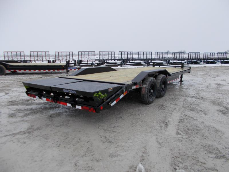 ***NEW** Load Trail 102X24' Equipment Trailer 14K LB MAX Ramps Flatbed Trailer
