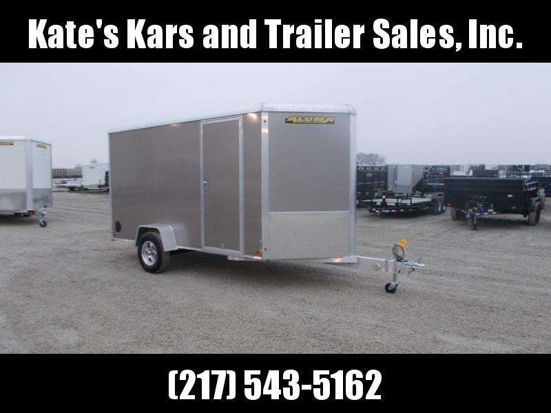 2020 Aluma 6X12' Extra Tall Aluminum Trailer Enclosed Cargo Trailer in Ashburn, VA