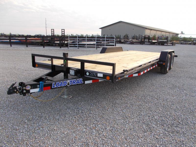 2020 Load Trail 83X22 9990GVWR Slide in Ramps Car Hauler Equipment Trailer