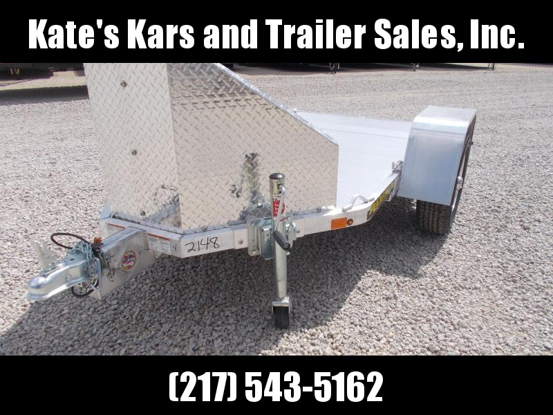 CALL FOR BEST PRICE Aluma MC1F Folding motorcycle Trailer