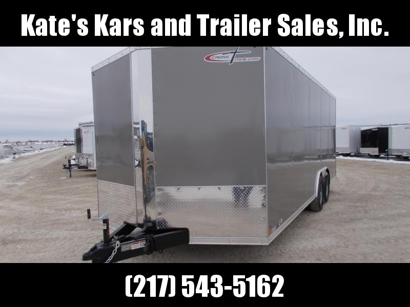 2019 Cross Trailers 8.5X20 HD 9990 LB GVWR Trailer Enclosed Cargo Trailer