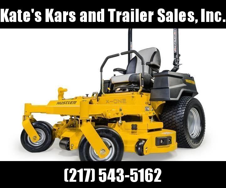 "LEFT OVER !! 2018 Hustler X-One 72"" commercial zero turn lawn mower for sale"