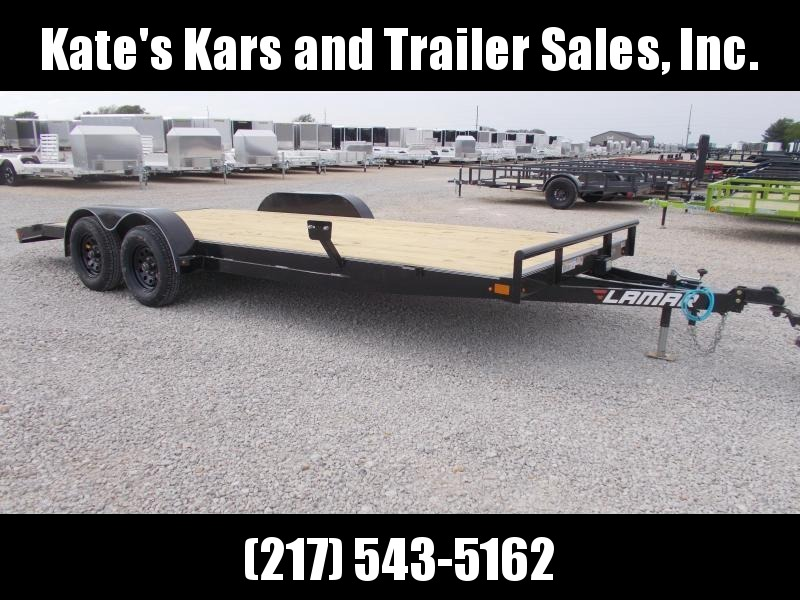 *NEW*  Lamar 20' Car Hauler W/ Removable Fenders Flatbed  Trailer