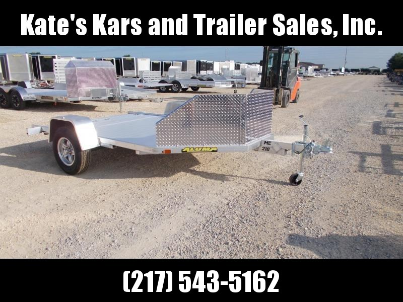 *NEW* Aluma MC210 Aluminum Motorcycle Trailer