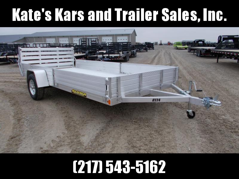 *NEW* Aluma 14' Aluminum ATV Utility Trailer