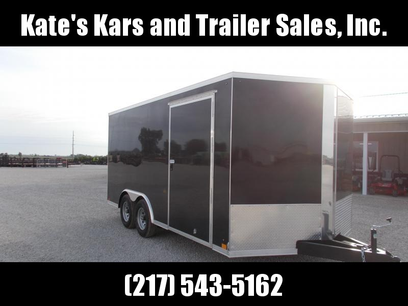 *NEW*  Cross 8.5X16' Heavy Duty 9990 LB GVWR Enclosed Cargo Car Hauler Trailer