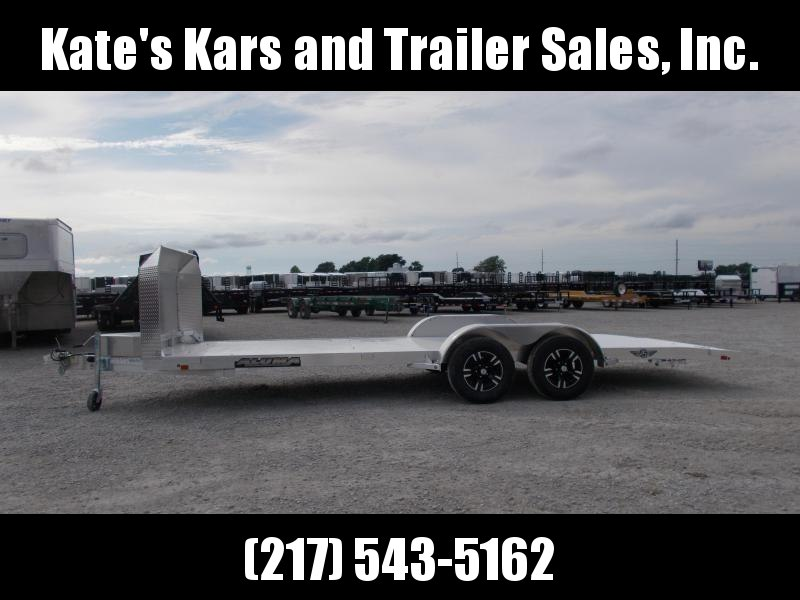 *NEW* Aluma 8220B Anniversary Aluminum Car Trailer 20' Flatbed