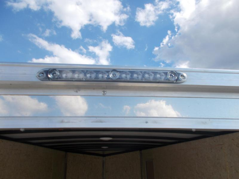 """Formula Trailers 7X16' 12"""" Additional Height Screwless Sides Enclosed Cargo Trailer"""
