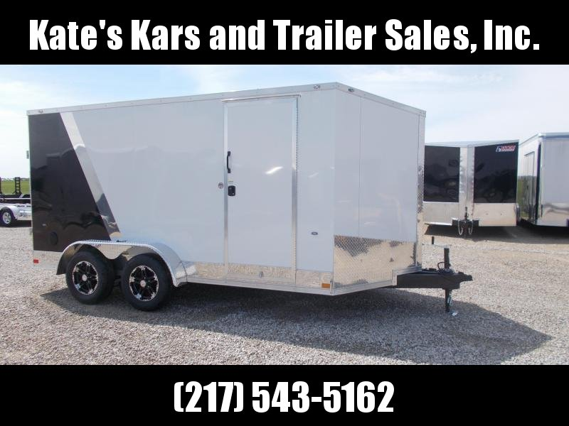 7X14' Two Tone EXTRA TALL Formula Trailers Enclosed Cargo Trailer
