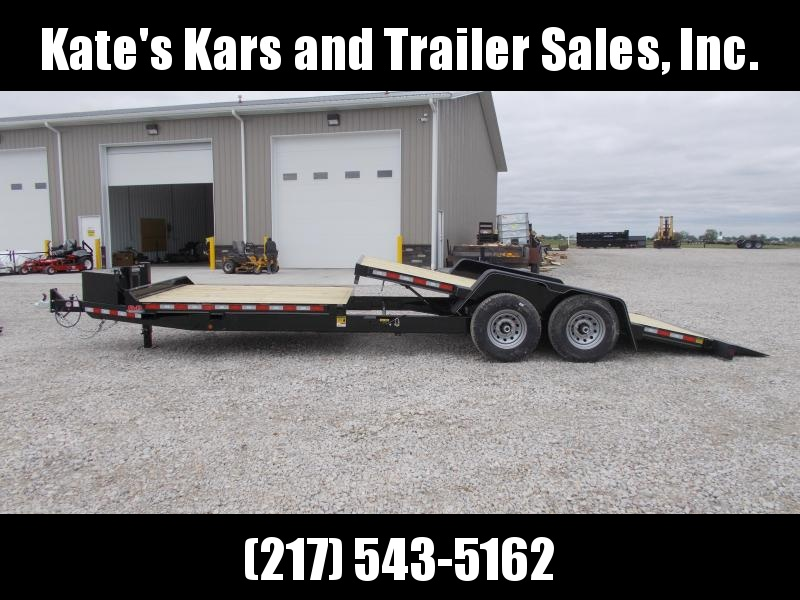 HEAVY DUTY Tube Frame  B-B 24' Tilt Trailer Equipment Trailer 14K LB GVWR