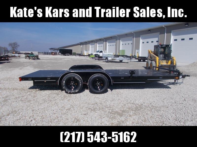 2019 Lamar Trailers 83x18 Steel Floor Car Trailer Car / Racing Trailer in Ashburn, VA