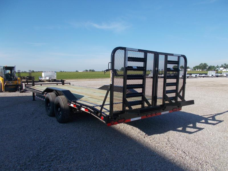 2019 Load Trail 102X24 Drive Over Fenders Equipment Trailer