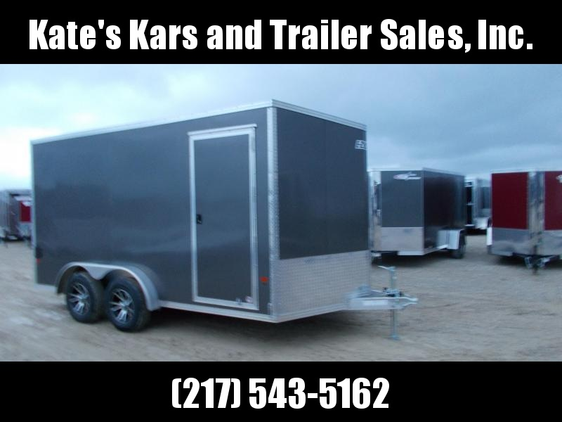 ATV UTV 7.5X14' Extra Tall Enclosed Cargo Trailer