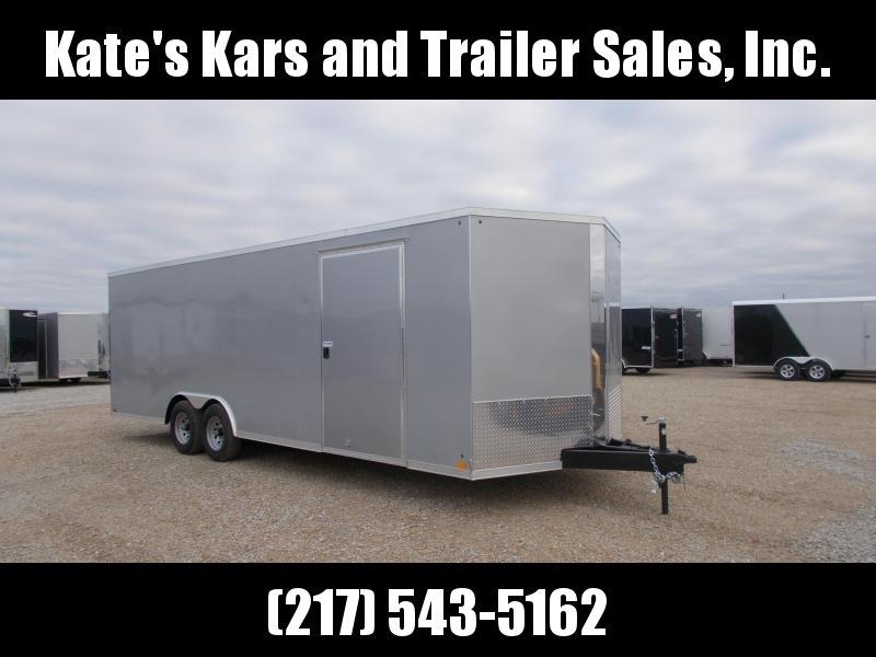 *NEW* Cross Trailers 8.5X24' HD Car Hauler 9990 LB Enclosed Cargo Trailer