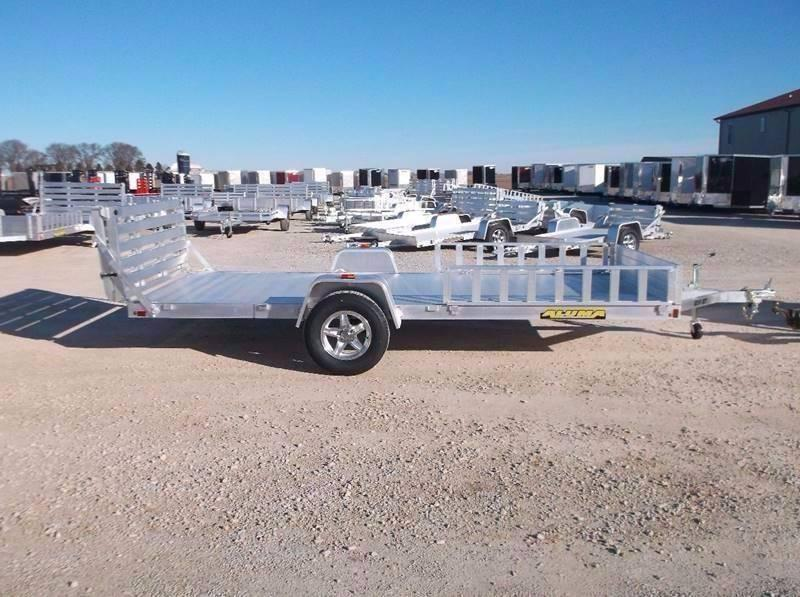 *NEW*  Aluma 8114BT Aluminum ATV Utility Trailer