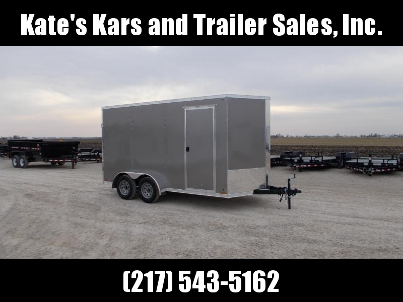 """*NEW* Cross 7x14' 12"""" Extra Height Enclosed Cargo Trailer"""
