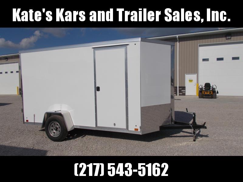 DOUBLE REAR DOORS Cross Trailers 6X12' Extra Tall Enclosed Cargo Trailer in Ashburn, VA