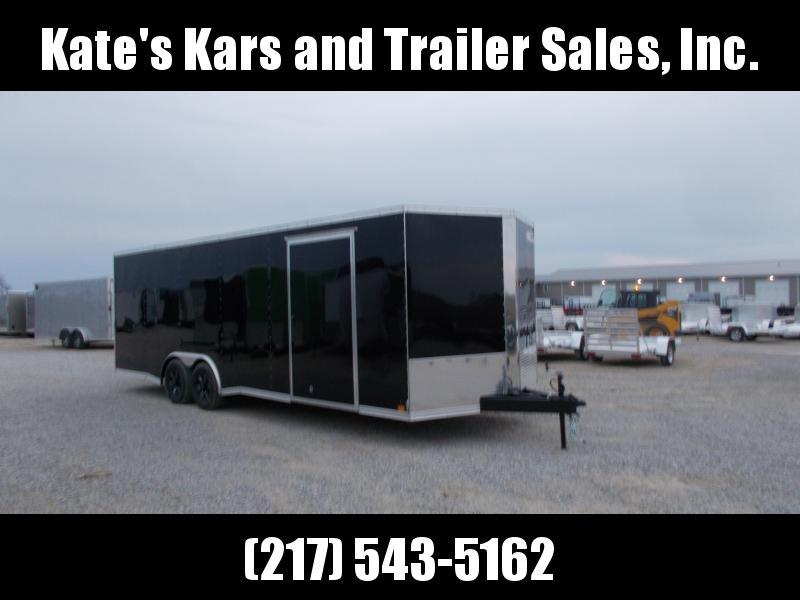 *NEW* Cross  8.5X24' HEAVY DUTY 9990 LB Car Hauler Enclosed Cargo Trailer for sale