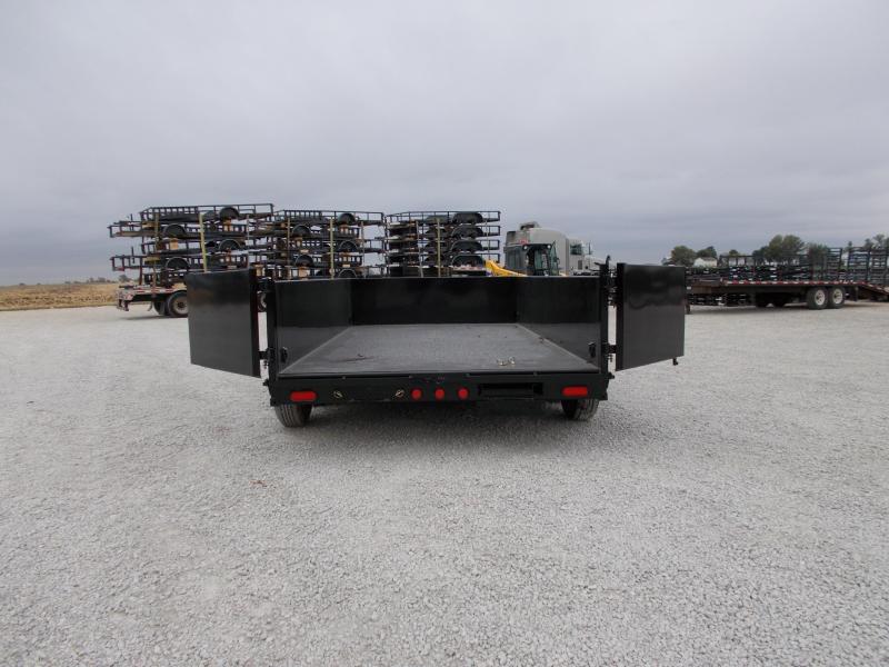 *NEW* PJ Trailers 83X14' Low Pro dump Trailer 14000 LB GVWR