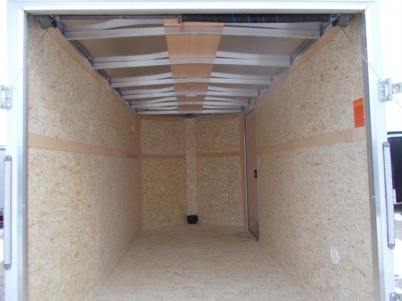 ALUMINUM!!! Pace 6X12' Tandem axle Aluminum Trailer Enclosed Cargo Trailer
