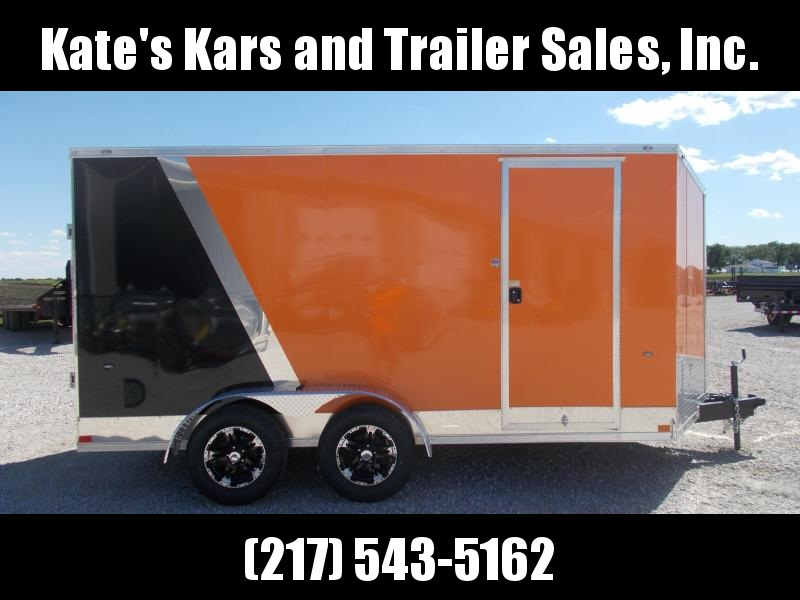 *NEW* Formula TWO TONE UPGRADED TRAILER 7X14' Extra Tall Enclosed Cargo Trailer