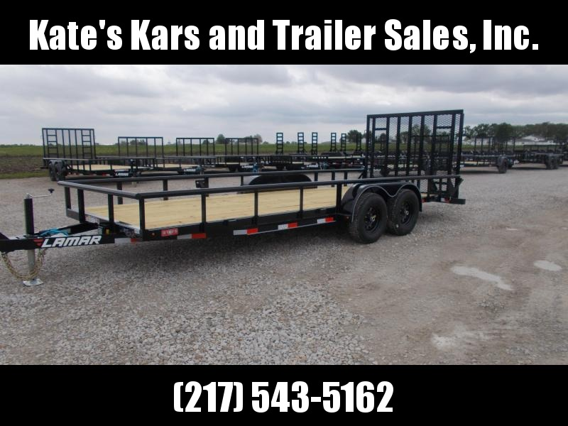 NEW**Lamar Trailers UC832025 Commercial HD 20' Landscape Equipment Trailer