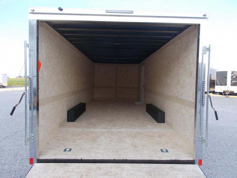 2020 Cross Trailers 8.5X24 Screwless Sides Enclosed Cargo Trailer