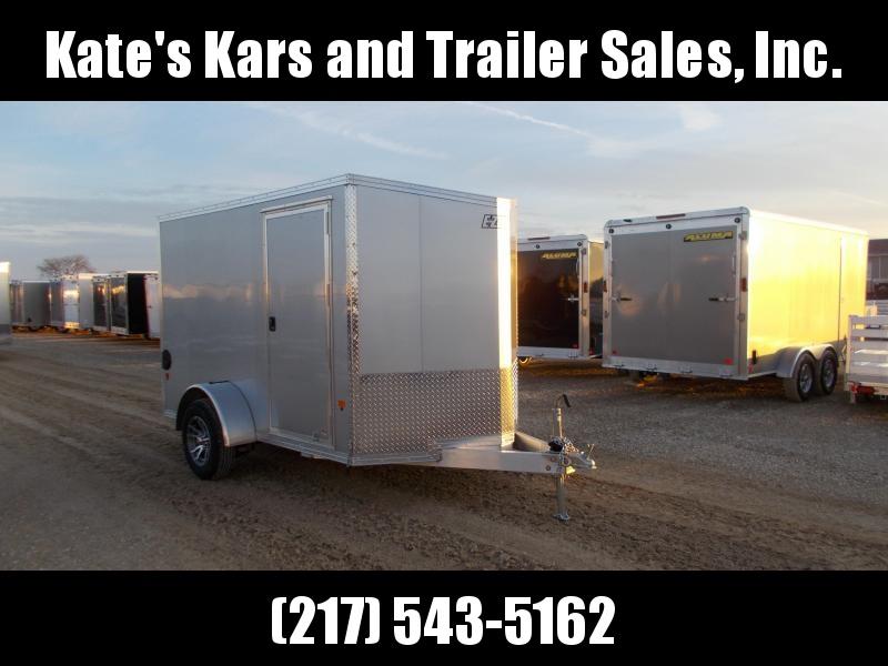 *NEW*  EZ Hauler 6X10 Aluminum Cargo Trailer