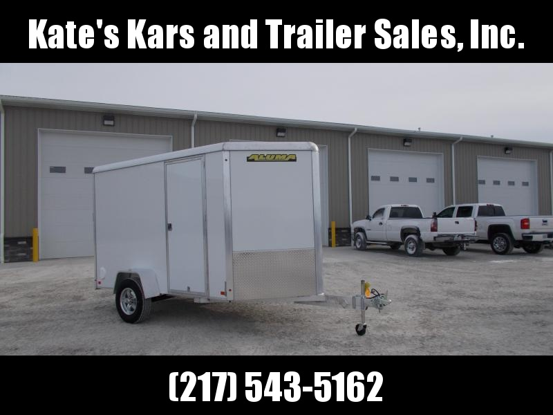2020 Aluma Extra Tall AE610R 6x10 aluminum enclosed cargo Trailer