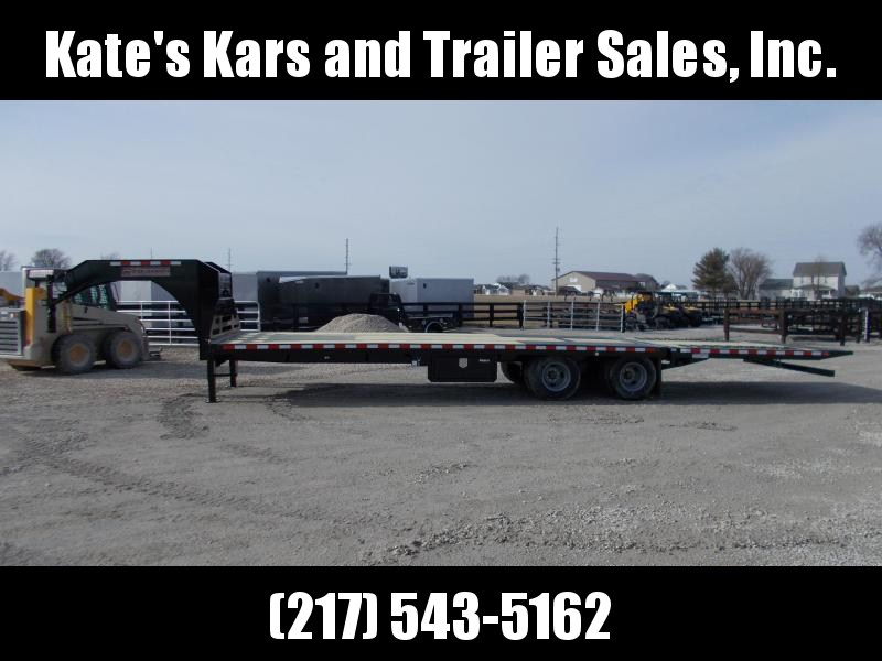 *NEW*  Midsota 32' Hydraulic Dovetail Gooseneck Trailer Equipment Trailer 23K LB in Ashburn, VA