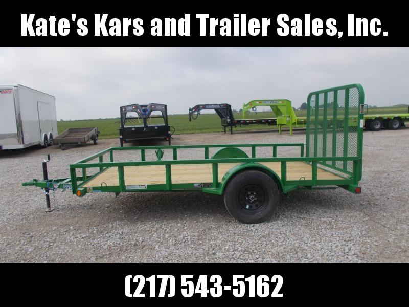 2019 Load Trail Single Axle Green 77X12 Utility Trailer in Ashburn, VA