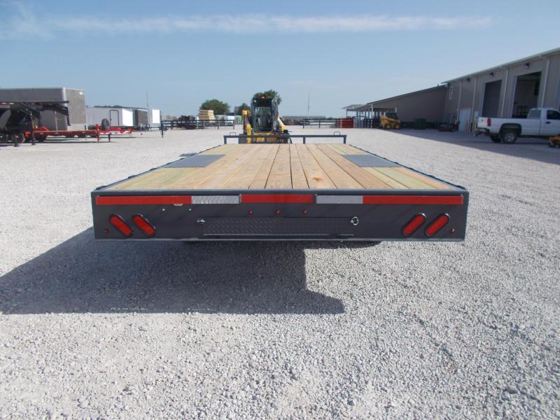 *NEW* Lamar Trailers 102X22' Straight Deckover 14K Equipment Trailer