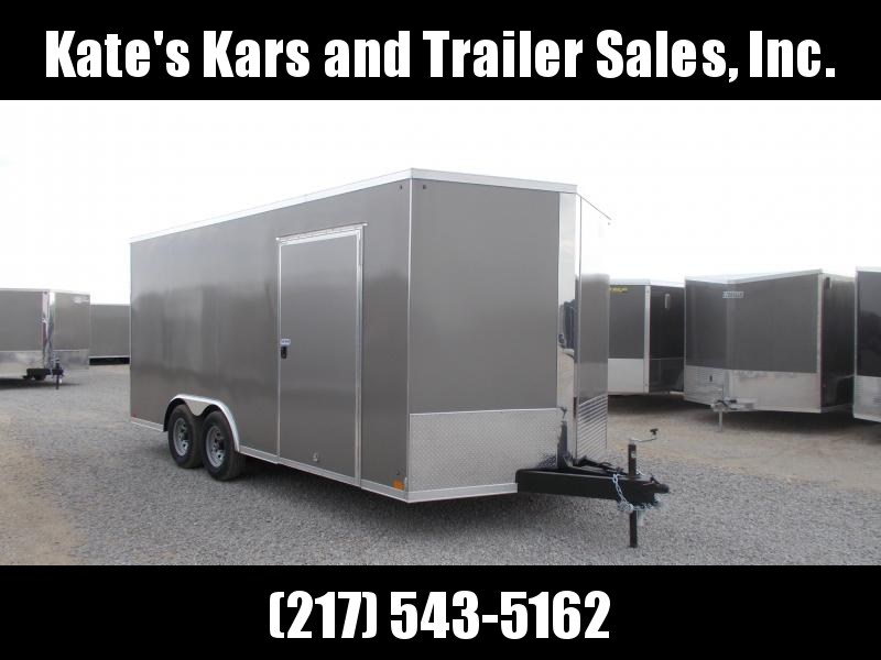 2020 Cross Trailers 8.5X18 HD Extra Tall Car Hauler Enclosed Cargo Trailer