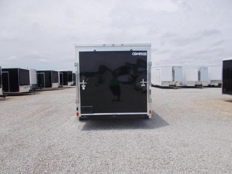 TWO TONE Formula Trailers Extra Tall 7X16 Upgraded Wheels Enclosed Cargo Trailer