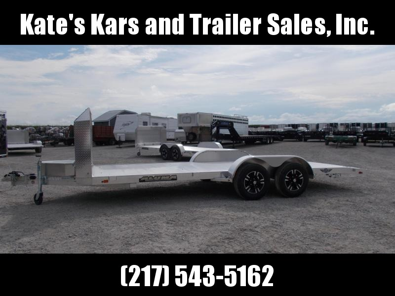 *NEW* Aluma 82x18' Anniversary Aluminum Car Trailer