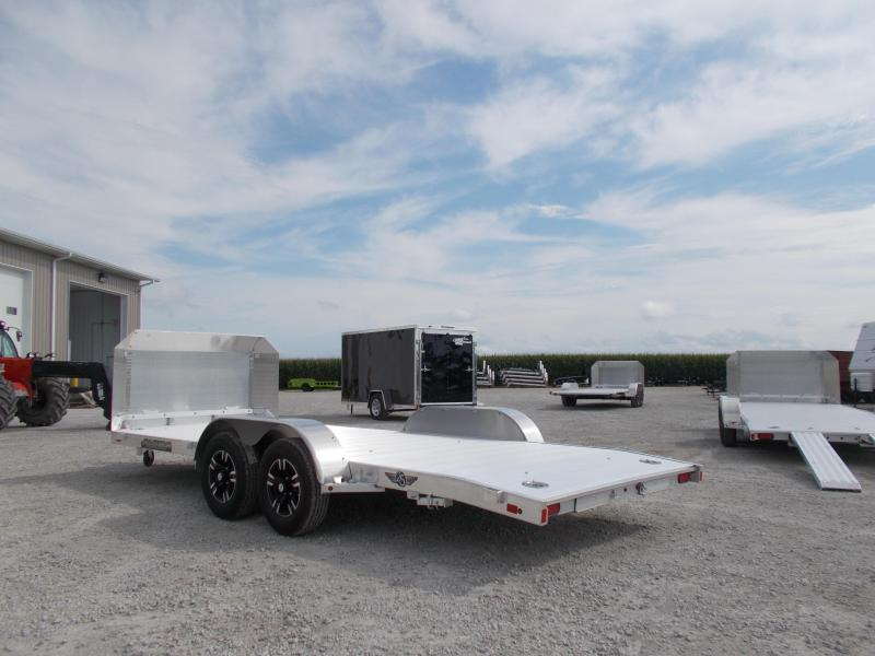 *NEW* Aluma 82x18' Anniversary Aluminum Car Trailer 8218B
