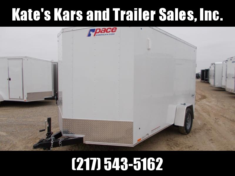 "*NEW* 7X12' Plus 6"" Height Enclosed Cargo Trailer PACE"