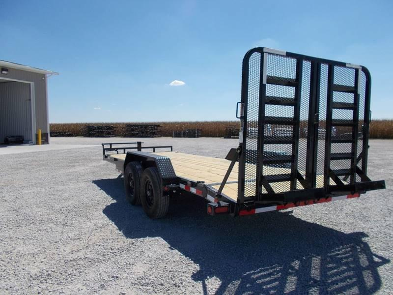 *NEW* Load Trail 83x20' flatbed implement bobcat trailer