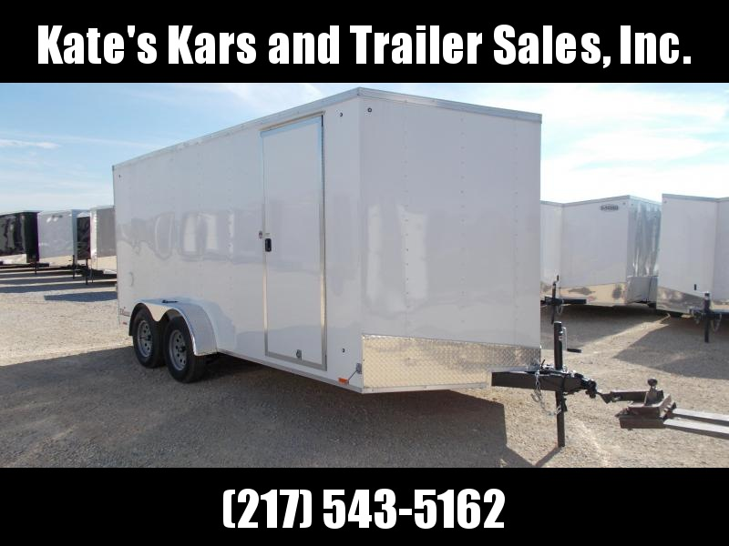 *NEW* 7X16' Extra Tall Enclosed Cargo Trailer 78 Inch Interior TUBE WALLS in Ashburn, VA