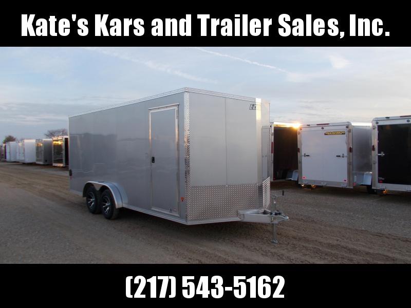 *NEW* EZ Hauler 7.5X18' Enclosed Aluminum Cargo Trailer EXTRA TALL