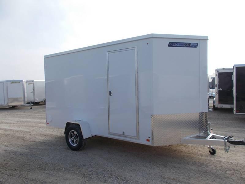 *NEW* Aluma ESW612R Aluminum 6x12' Enclosed Cargo Trailer EXTRA HEIGHT
