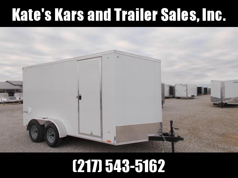 """*NEW* Pace 14'  6"""" additional height Ramp Door LED lights Enclosed Cargo Trailer"""